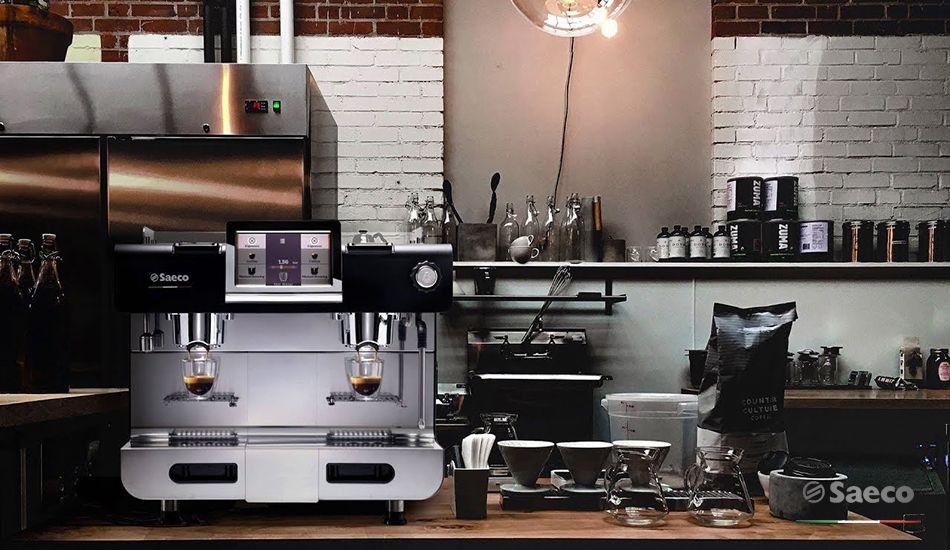 máy pha cà phê viên nén, máy pha cafe viên nén saeco, saeco dually